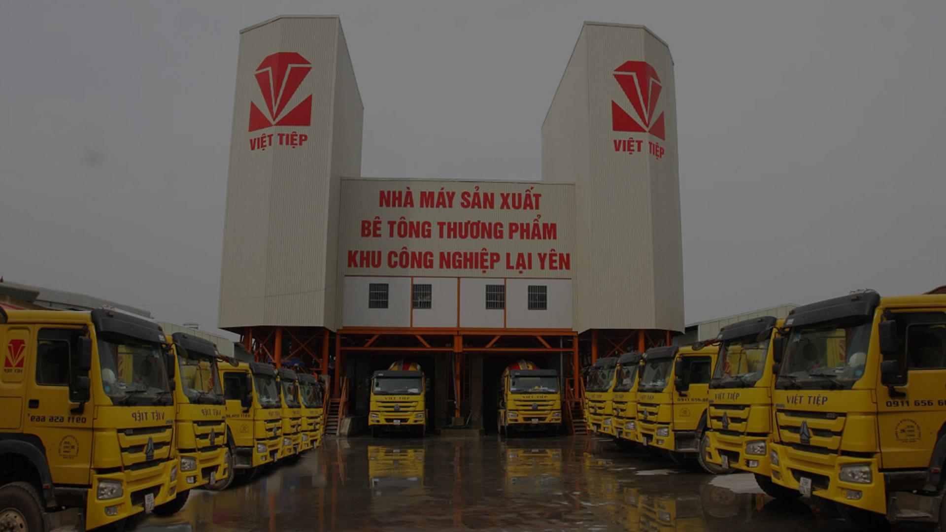 Bê tông Việt Tiệp